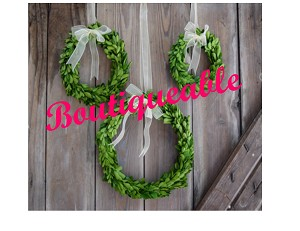 Boxwood Wreaths - Set of 3