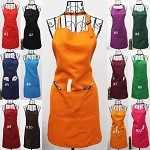 Apron with Front Pocket Bib for Chefs Butchers Kitchen Cooking Craft Baking Home Cleaning Tool Adult Teenage College Clothing